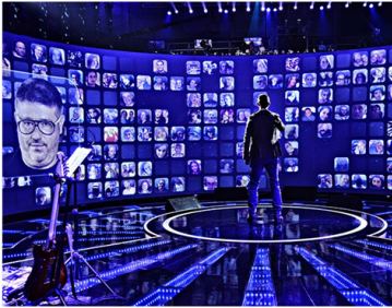 大型互动照片墙