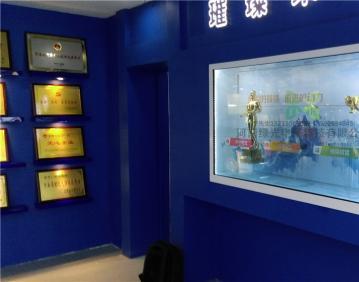 河南省郑州某银行总部展厅