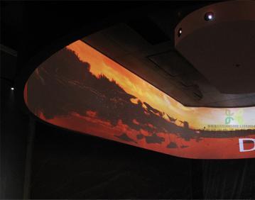 360度环幕展示系统   环幕影院   360°影院   大屏幕展示
