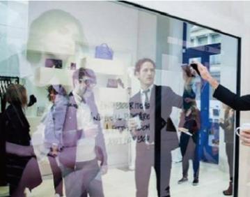 互动魔镜,互动投影镜面,互动触摸投影,互动镜面,虚拟魔镜