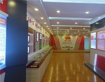 河南漯河龙城廉政展厅.廉政展厅,党建教育基地。